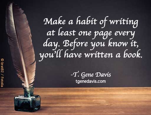 Write a Page Every Day